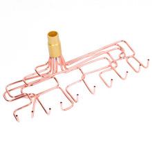 Montaje de tubería de cobre para aire acondicionado