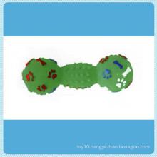 Footprint Small Dumbbell, Pet Toys