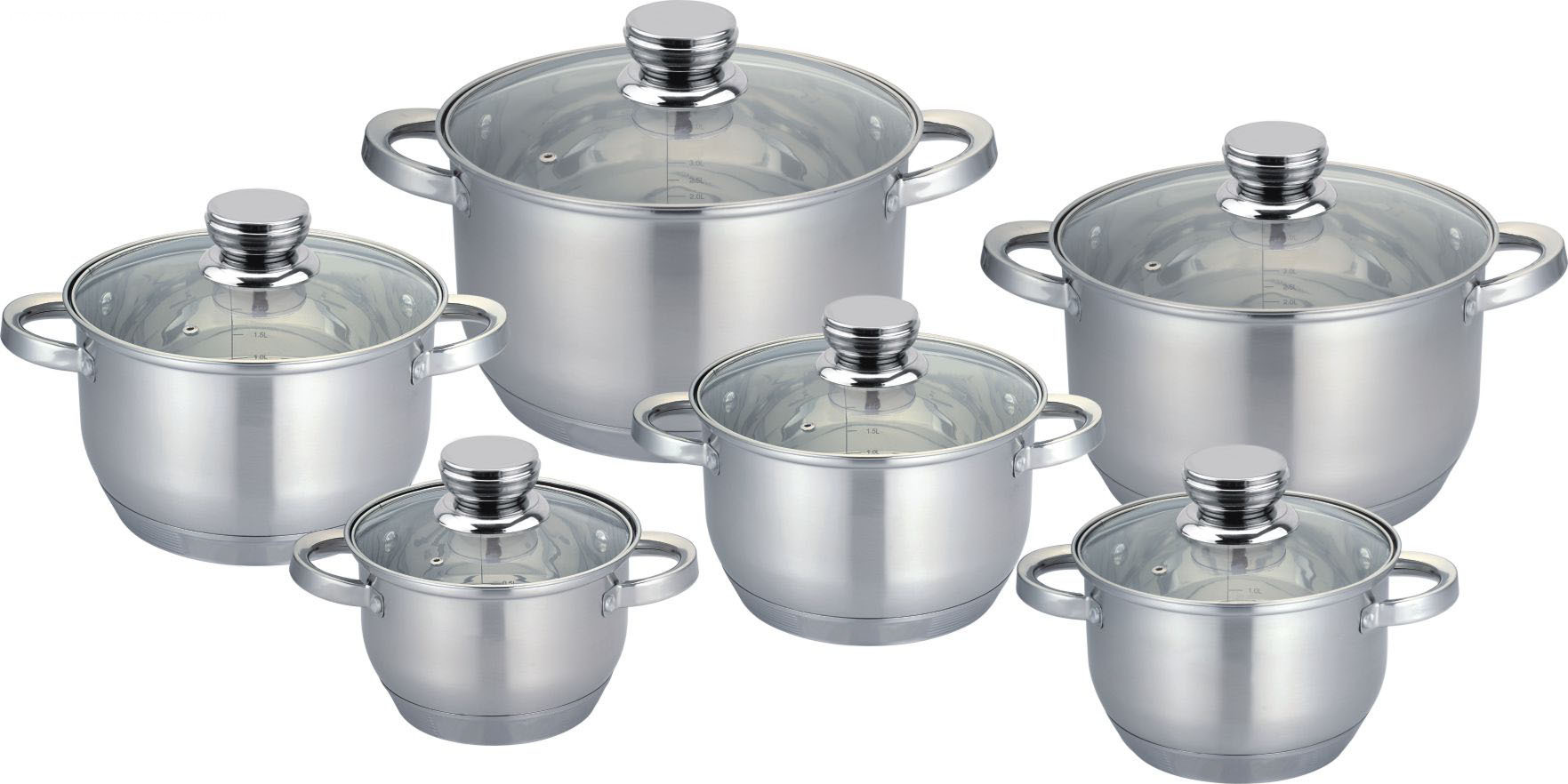 Casserole 12pcs with special combination