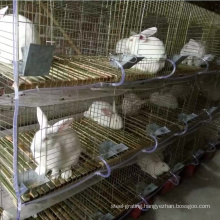Welded wire rabbit battery cage(factory)3 or 4 layers
