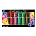 A0100 Metallic acrylic paint set for kids