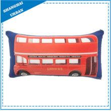 London Bus Impreso Poliéster Throw Pillow