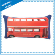 Londres Bus Impresso Poliéster Throw Pillow