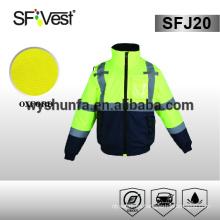 Chaqueta de seguridad productos reflectantes para el hombre de la motocicleta reflexiva chaqueta impermeable costura cinta para impermeable de la chaqueta