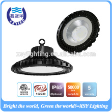 IP65 ufo high bay led light 150w DLC ETL SAA TM21 LCP одобренный 120lm / w