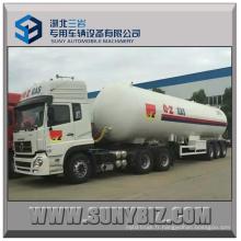 56m3 23.52t Semi-remorque à essence tri-essieu LPG avec tracteur