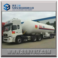56m3 23.52t Tri-Axles LPG Полуприцеп-цистерна с Трактором