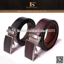 Cinturão de couro genuíno superior portátil