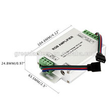 3 Channels Data Signal Repeater LED RGB Amplifier Controller for 3528/5050 SMD RGB LED Strip