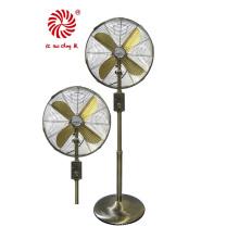 Ventilador de suporte de 16 '' Ventilador de metal com base de metal
