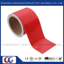 Red Caution Reflective Warning Tape Sticker Self Adhesive Tape (C3500-OXR)