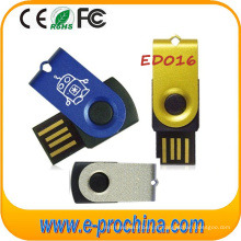 Logotipo personalizado Memória Flash USB colorida, Disco Flash USB