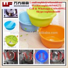 Taizhou OEM Custom wash basin injection moulds,round washing tub moulds