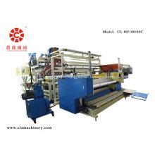 Machine de fabrication de film étirable par co-extrusion