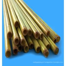 Tubo / folha de epóxi 3240 de fibra de vidro amarela