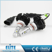 2 years warranty no fan car bulb 9004 9005 9006 9007 h3 h4 h7 kit x3 led headlight