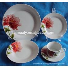 Guangxi haute qualité quotidienne en utilisant un ensemble de vaisselle en céramique