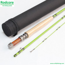 Green Leaf Gr663-3 Quality Made Classic Fiberglass Fly Rod