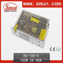Fonte de alimentação do interruptor da única saída do tamanho de Smun 100W única 2 anos de garantia com o CE RoHS aprovado