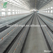 2016 Hot sale galvanized egg chicken cage poultry farm broiler layer cage