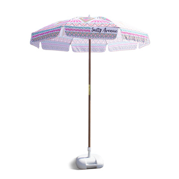 Parapluie promotionnel de protection en bois de pôle UV