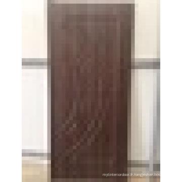 Porte intérieure en PVC Cnc Routing Surface design moderne