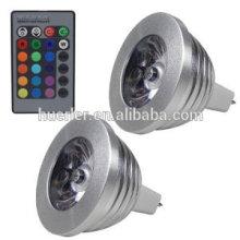 led spot light 3W 100-240v hot products RGB color changing led night light lamp