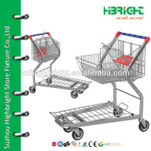 heavy duty folding steel platform hand truck