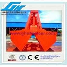 Cubo electro-hidráulico de concha para carga