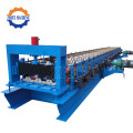 Dek hidraulik PPGI Roof Steel Roll Forming Machine