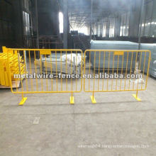 PVC coated temporary designs grating fence(ISO9001 manufacturer)