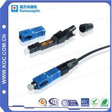 Sc Singlemode Sx FTTH Connecteur Rapide