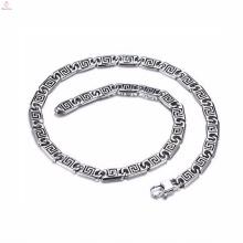 Fashion Trends New Model Argent Chaîne Collier Bracelet Ensemble de bijoux