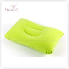 Almohada inflable de aire para el cuello para viajar 44 * 30 cm