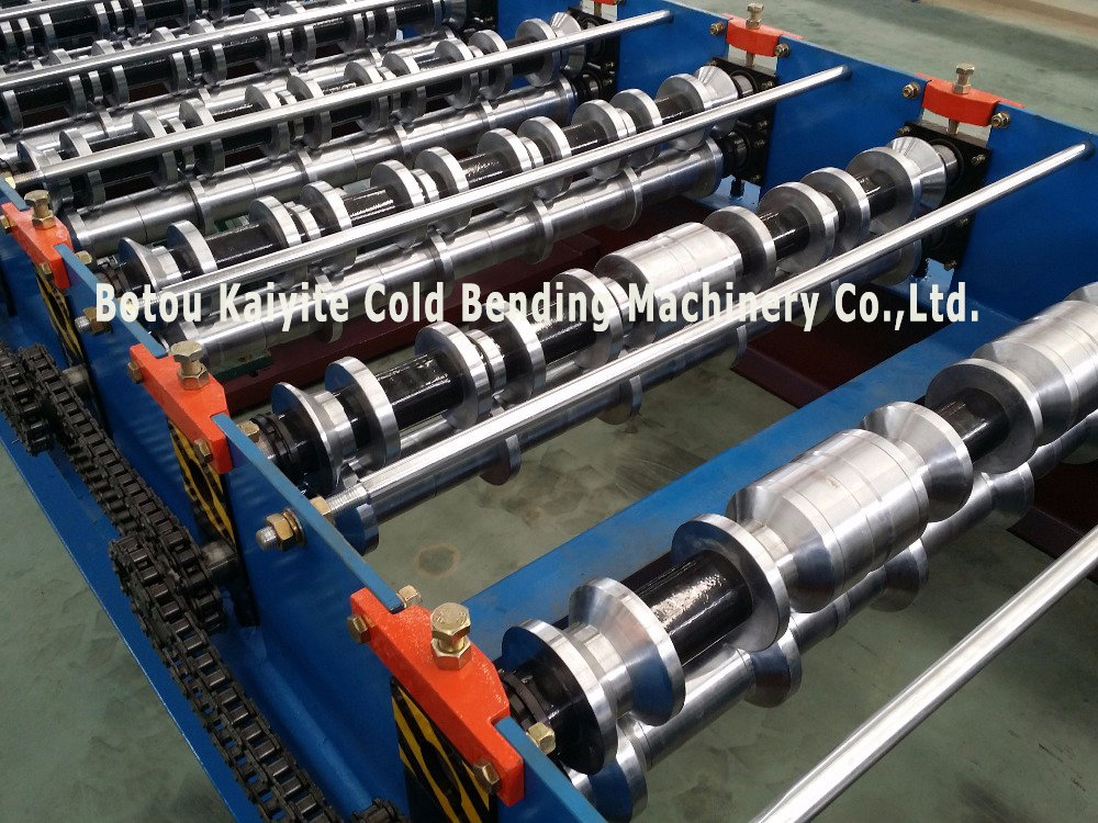 Customized Roof Panel Roll Forming Machine