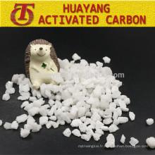 Granules d'oxyde d'aluminium fusionnés par blanc / corindon pour l'abrasif de sablage