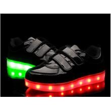 Black Luminous Sneaker Chaussures LED