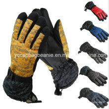 Пользовательские лыжные перчатки с подогревом
