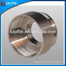 Pièces d'usinage CNC en aluminium personnalisées