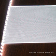 led light guide plate with reflective film, diffuser plate