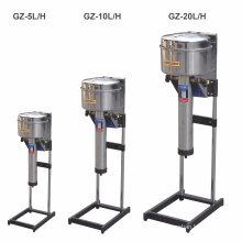 Destilador de agua de control automático vertical de la industria