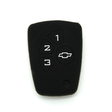Para Chevrolet 3 Button Car Key Funda de silicona