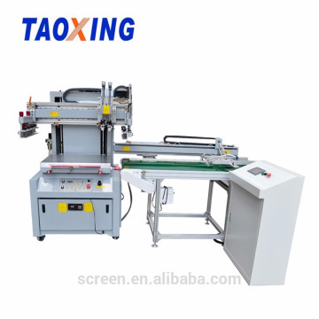 automatic screen printing machine with take off