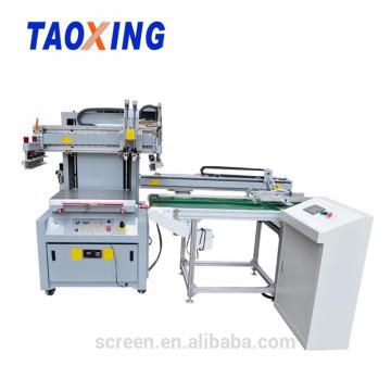máquina de impressão de tela automática com decolar
