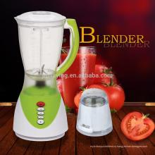 Оптовая цена 3 скорости 1,5 л PS или ПК Jar 2 в 1 электрический Blender соковыжималка