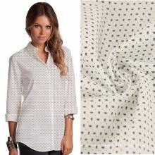 128x64 115gsm cotton stretch poplin girl long shirt fabric women lounge shirt fabric cotton women business shirt fabric design