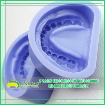 EN-G3 Moule en caoutchouc de silicium bleu de haute qualité pour les moulages d'arcs édentés