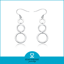 Fashion Silver Hoop Earrings Wholesale