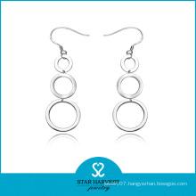 Fashion Silver Hoop Earrings Wholesale