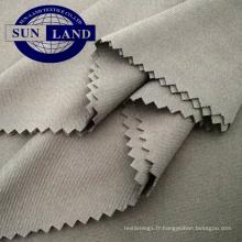 80 90 100 gsm habillement doublure vêtement en tricot interlock respirant léger et respirant